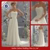 Za0002 Sexy beach casual white wedding dresses ruffled eiffel bride wedding dresses