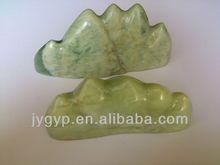 Right Angle Type Ball-pen Holder,jade stone Writing Brush Dispaly Stand,calligraphy brush holder