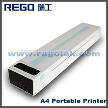 Direct thermal / therma transfer printing portable A4 printer thermal bluetooth printer