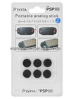 For PSP 2000/ For PSP 3000/For PS For vita/ For PS For vita 2000 6 in 1 Silicon Analog Grip Cap
