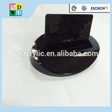 Manufacturer supplies elegant black acrylic name card holder for office