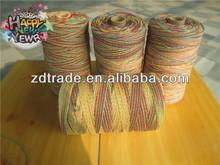 2014 New Trendy!Tie dye Waxed Hemp thread cord twine