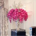 2014 venda quente alta qualidade orquídeas borboleta artificial para a decoração do casamento, grace bela flor