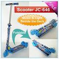 Büyük tekerlek kick scooter müzik ve ışık jc-646