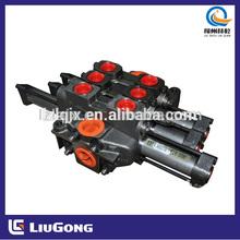 Liugong 12C0385 CLG856 Wheel Loader peças válvula de controle de máquinas de construção