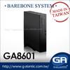 GA8601 intel atom d525 mini itx case htpc
