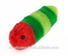 weihnachten raupe roten und weißen kuscheln Wurm plüsch stofftier urlaub spielzeug