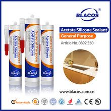 Uv Resistance Non-Yellowing Car Glass Silicone Sealant