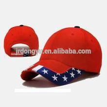 usa star & stripe velcro closure baseball cap