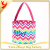 Polka Dots Easter Buckets Halloween Trick Or Treat Bags Shopping Tote Bag Color Mixed