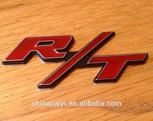 custom design rmetal aluminum logo emblem sticker