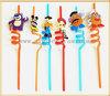 funny cartoon hard plastic drinking straws factory