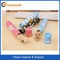Conjunto de papelaria muito barato de madeira cor de caneta caneta marca-texto multi colorido