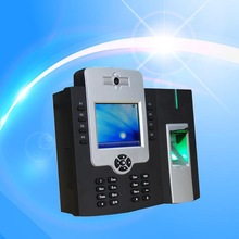 3.5inch internal camera rfid card and fingerprint T&A Access control system