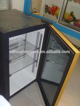 New popular mini home refrigerators glass door ,used glass door refrigerators