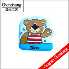 2014 new design Cute teddy bear waterproof baby bath book