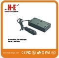Fabricante de 63 W de 12.6A 6 puerto de usb de cargador de coche para el iPad y el teléfono inteligente, cargador de coche