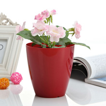 Wedding Decor Cheap ECO Plastic artificial flower pot