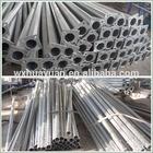 galvanized steel street lighting poles