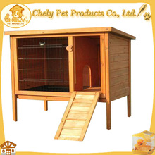 Hot Selling Custom Rabbit Hutch Hay Rack And Ladder Design Pet Cages, Carriers & Houses