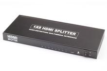 Full 3D 1080P hd hdmi converter 1x8 HDMI Switcher Splitter 1*8 ,4 way hdmi splitter,hdmi splitter to coaxial