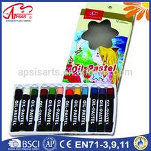 Venta al por mayor no - tóxico al óleo niños niños en colores pastel de la tiza