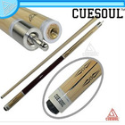 CUESOUL CSBK002 Special Price 58 inch Canadian Maple Wood 1/2 Jointed Pool Cue Stick Billiard Cue with 13mm Cue Tips
