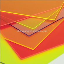 Dichroic acrylic sheet