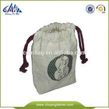 recycling drawstring bag cotton