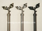 cast iron round iron rod and finials for sale