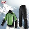 Nouveau 2014 froid, hiver, cyclisme,/veste de ski porter ensemble des hommes à manches longues vêtements de cyclisme maillot ensemble mis de gros en stock