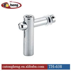 Stainless steel SUS 304 Glass shower door support bar connector