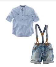 Z80424C 2014 summer european casual kidS clothes