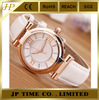 Classic White Leather gold color Noble taste Wristwatch Quartz stylish women watch,women stylish watches,stylish girls watch