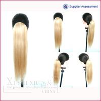 wholesale wrap around human hair ponytail