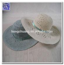 Custom Summer Straw Beach Hats For Ladies