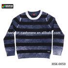 New Design Wool Stripe Kid Sweater