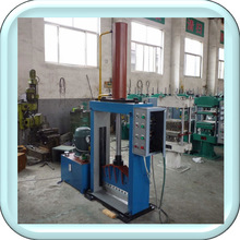 Hydraulic press rubber sheet cutting machine