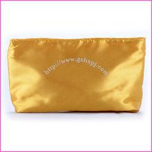 Satin material cosmetic bags