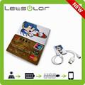 Tamaño tarjeta de crédito bolsillo de la carpeta cargador
