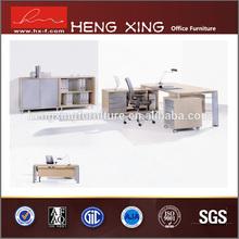 Modern L Shape White Cherry Executive Office Desk (HX-ND5034)