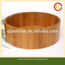 New Practical Round Bamboo Fruit Bowl
