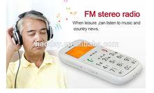 anziani gps tracker telefono mobile gs503 con parola grossa
