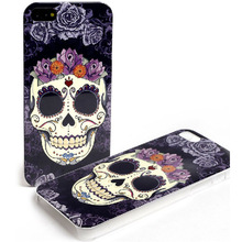 For iPhone 5g 5s fashion LOFTER skull cell phone case