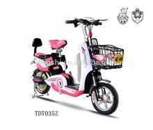 cute convenient 48v 350w electric motor bike
