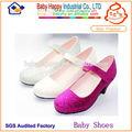 lindo designer de moda moda sapatos de salto alto para as crianças