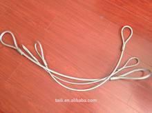 ungalvanized steel wire rope sling