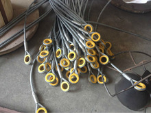 ungalvanized and galvanized steel wire rope sling