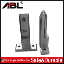2014 304/316 stainless steel swimming pool,balcony spigots glass panel pool fence spigots