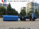 roll off rubbish collector 4*2 garbage compactor containers ,garbage compactor recycling truck,used garbage truck for sale